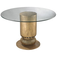 Dimond Home 114-119 Sock Bun 48 X 48 inch Antique Gold Leaf Entry Table