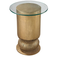Dimond Home 114-120 Sock Bun 25 X 20 inch Antique Gold Leaf Side Table