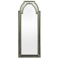 Arched 68 X 27 inch Antique Silver Mirror and Clear Wall Mirror Home Decor