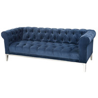 Sophie Navy Blue Sofa Home Decor