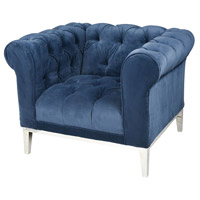 Sophie Navy Blue Arm Chair