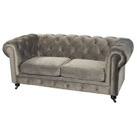 Gypsy Grey Sofa Home Decor, Two-Seater