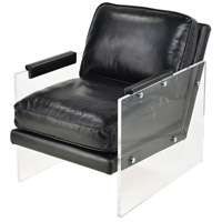 Air To The Throne Black with Clear Chair Home Decor