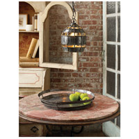 Dimond Home 135008 Fortress 1 Light 9 inch Distressed Silver Pendant Ceiling Light, Round 135008_rm.jpg thumb