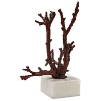 Staghorn Coral Red Sculpture