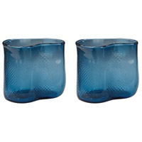 Dimond Home 154-012/S2 Fish Net 8 X 7 inch Vase in Navy Blue thumb