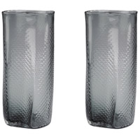 Dimond Home 154-015/S2 Etched 14 X 6 inch Vase in Grey thumb