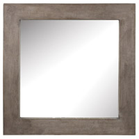 Dimond Home 157-001 Cubo 32 X 32 inch Concrete Wall Mirror  thumb