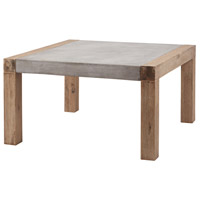 Dimond Home 157-002 Arctic 32 X 32 inch Concrete and Atlantic Brushed Outdoor Coffee Table in Small