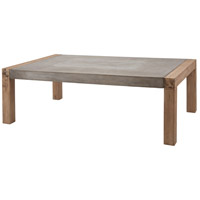 Dimond Home 157-003 Arctic 53 X 32 inch Concrete and Atlantic Brushed Outdoor Coffee Table in Large
