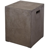 Cubo Concrete Stool Home Decor