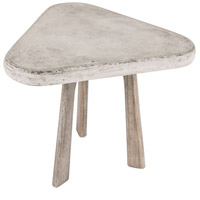 Dimond Home 157-015 Candy 15 X 15 inch Polished Concrete and Atlantic Side Table thumb