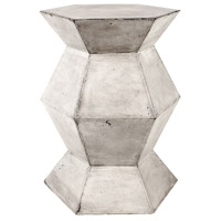 Dimond Home 157-016 Flanery 21 X 16 inch Waxed Concrete Side Table