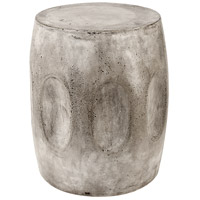 Wotran 18 inch Waxed Concrete Stool