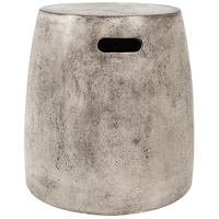 Hive 18 inch Waxed Concrete Stool