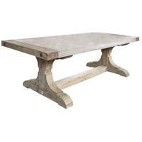 Pirate 62 X 16 inch Waxed Atlantic Dining Table Home Decor