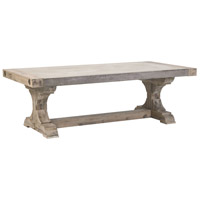 Dimond Home 157-040 Pirate 53 X 27 inch Concrete,Atlantic Brushed Wood Coffee Table