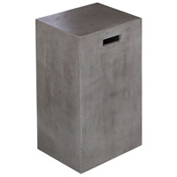 Millfield 25 inch Polished Concrete Outdoor Bar Stool