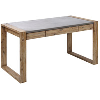 Brooklyn Heights Atlantic Brush and Polished Concrete Outdoor Desk