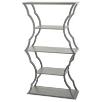 Cloud Grey Wood Bookcase