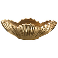 Dimond Home 166-015 Poppy Gold Leaf Planter