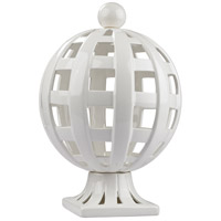 Dimond Home 167-010 Basket Weave Gloss White Decorative Trophy thumb