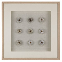 Sea Urchin Natural Shells/White Wall Art