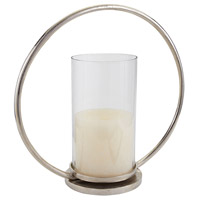 Hoop 16 X 7 inch Candle Hurricane in Large, Large