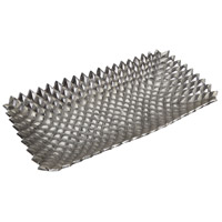 Dimond Home 179-017 Studded Nickel Tray