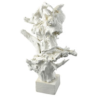 Dimond Home 2181-045 Coldfall Wood 34 X 13 inch White Decorative Stand thumb