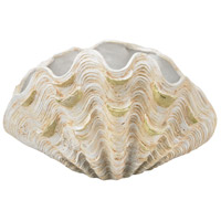 Dimond Home 2182-006 Cretaceous 16 X 13 inch Bowl, Shell thumb