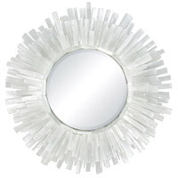Shiverpeak 25 X 25 inch Natural Rock Crystal Wall Mirror Home Decor