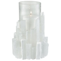 Shiverpeak Natural Rock Crystal Candle Holder