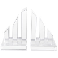 Degrees 8 X 4 inch Clear Crystal Bookend