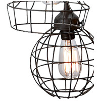 Dimond Home 225031 Five-Wire 5 Light 6 inch Brown Pendant Ceiling Light 225031_alt3.jpg thumb