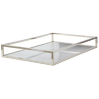 Dimond Home 225067 Rod Silver Box Tray in Rectangle, Rectangular