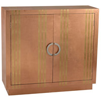Stripe Copper Cabinet