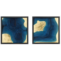 Dimond Home 3168-061/S2 Blue Spill Blue Wall Art, Set of 2 thumb