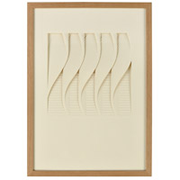 Dimond Home 3168-062 Blank Verse Cream with Natural Wood Shadowbox