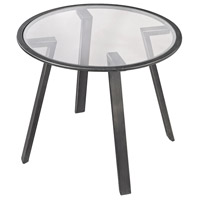Dimond Home 3200-017 Geometric 24 X 24 inch Pewter Accent Table Home Decor