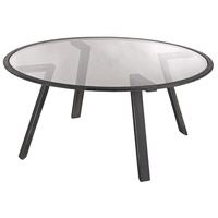 Dimond Home 3200-040 Geometric 34 X 34 inch Pewter Coffee Table Home Decor
