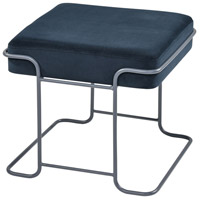 Interlinked Deep Navy and Grey Single Bench