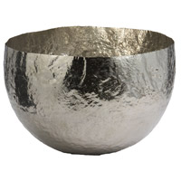 Hammered 13 X 9 inch Dish in Silver, Large, Large
