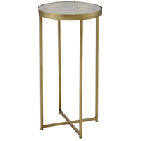 Elix 12 inch Gold Accent Table