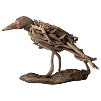 Driftwood Brown Ornamental Accessory