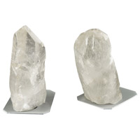 Ulikool 5 X 3 inch Clear Rock Crystal Bookend