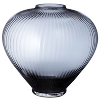 Smoky Spindle 11 inch Vase