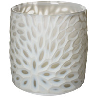 Dimond Home 464056 Bouquet Cut 6 X 5 inch Votive in Milk White thumb