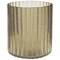 Signature 7 X 4 inch Votive in Champagne Gold, Large, Large