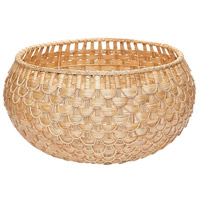 Dimond Home 466047 Fish Scale 27 X 14 inch Basket in Natural, Large, Large